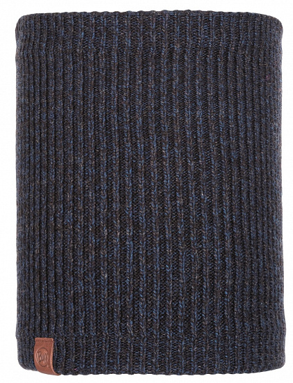 Шарф Buff Knitted&Polar Lyne Night Blue