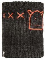 Шарф детский Buff Knitted&Polar Monster Jolly Black