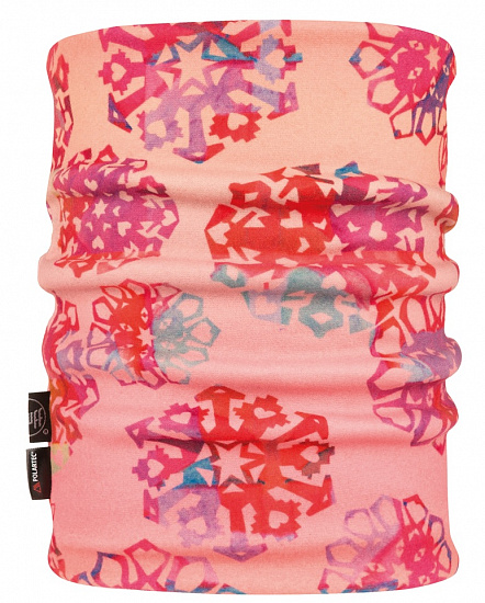 Шарф Buff Reversible Polar Neckwarmer Origami Flock Flamingo Pink - Фото 1 большая