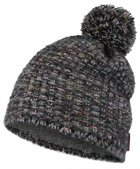 Шапка Buff Knitted & Fleece Hat Grete Castlerock Grey - Фото 1 большая