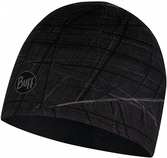 Шапка Buff Microfiber Reversible Hat Embers Black - Фото 1 большая