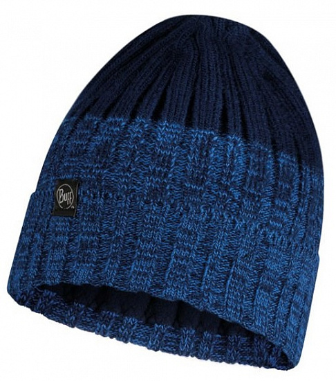 Шапка Buff Knitted&Polar Hat Igor Night Blue - Фото 1 большая