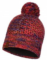 Шапка Buff Knitted&Polar Hat Margo Maroon
