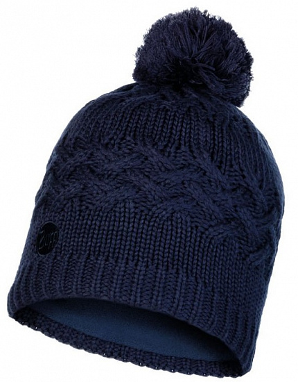 Шапка Buff Knitted&Polar Hat Savva Night Blue