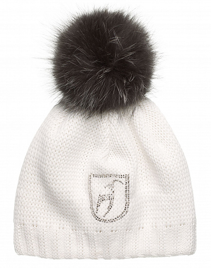 Шапка женская Toni Sailer Beanie Fur Bright White