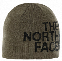 Шапка The North Face Reversible Tnf Banner New Taupe Green/Tnf Black