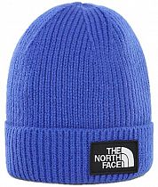 Шапка детская The North Face Y Box Logo Cuff Bean Tnf Blue
