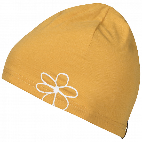 Шапка женская Bergans Cecilie Summer Sunflower Mel/White - Фото 1 большая