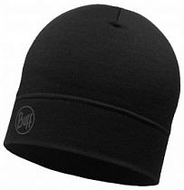 Шапка Buff LW Merino Wool Hat Solid Black