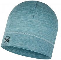 Шапка Buff LW Merino Wool Hat Solid Pool