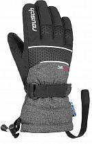 Перчатки детские Reusch Connor R-Tex XT Black/Black Melange