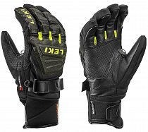Перчатки мужские Leki Race Coach C-Tech S Black/Ice Lemon