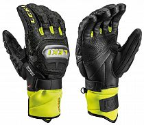 Перчатки Leki Worldcup Race Ti S Speed System Black/Ice Lemon