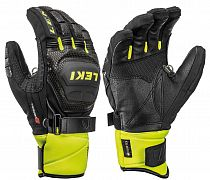 Перчатки Leki Worldcup Race Coach Flex S GTX Black/Ice Lemon