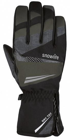 Перчатки мужские Snowlife Comfort DT Black/Grey - купить в магазине Спорт-Марафон с доставкой по России