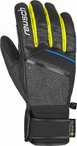 Перчатки мужские Reusch Beat GTX Black/Black Melange/Safety Yellow