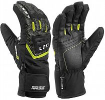 Перчатки детские Leki Worldcup S Black/Ice Lemon