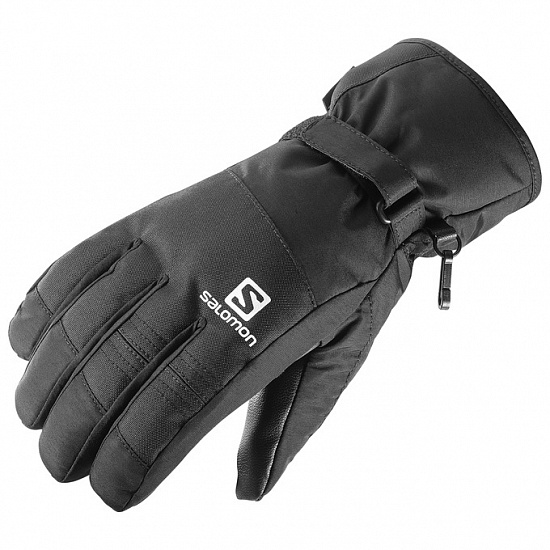 Перчатки мужские Salomon Gloves Force Gtx M Black