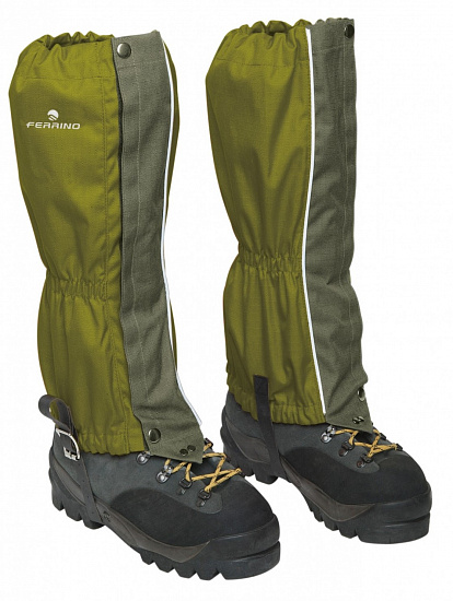 Гамаши Ferrino Zermatt Gaiters Army - Фото 1 большая