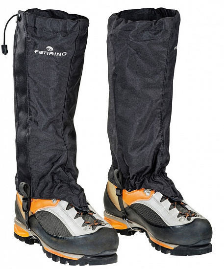 Гамаши Ferrino Cervino Gaiters Cable Black