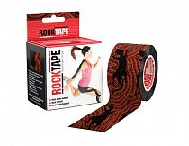 Кинезиотейп Rocktape Design, 5см х 5м, Ящерица