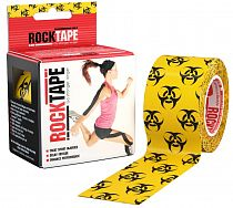 Кинезиотейп Rocktape Design, 5см х 5м, Биоугроза