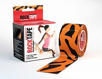 Кинезиотейп Rocktape Design, 5см х 5м, тигр