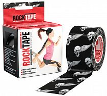 Кинезиотейп Rocktape Design, 5см х 5м, Череп