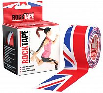 Кинезиотейп Rocktape Design, 5см х 5м, Британский флаг