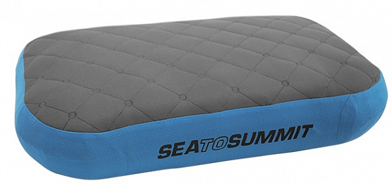 Подушка Sea to Summit Aeros Premium Deluxe Blue - Фото 1 большая