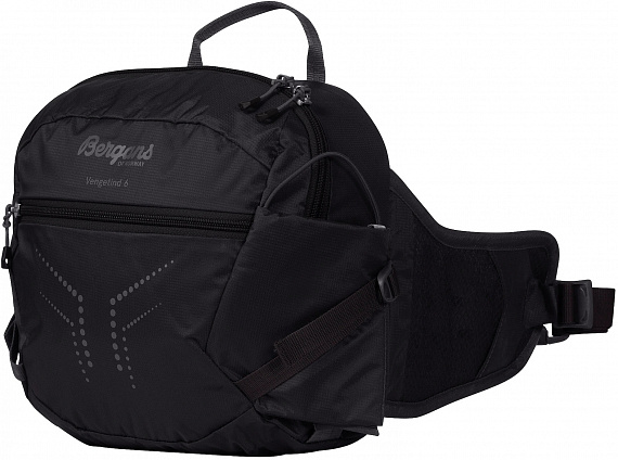 Поясная сумка Bergans Vengetind Hip Pack 6 Black - Фото 1 большая