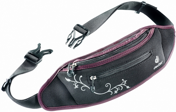 Поясная сумка Deuter Neo Belt I black-aubergine - Фото 1 большая