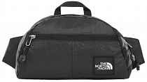 Поясная сумка The North Face Flyweight Bum Bag Asphalt Grey/TNF Black