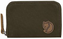 Кошелек Fjallraven Zip Card Holder Dark Olive