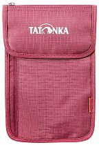 Кошелек Tatonka Neck Wallet Bordeaux Red