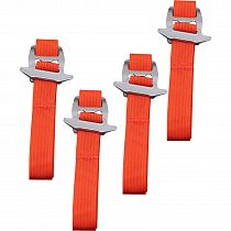 Стропы Mountain Equipment Side Compression Strap (4шт) Magma