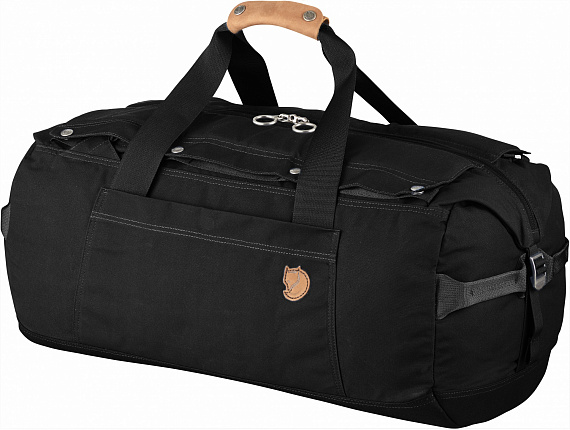 Сумка Fjallraven Duffel No.6 Medium Black - Фото 1 большая