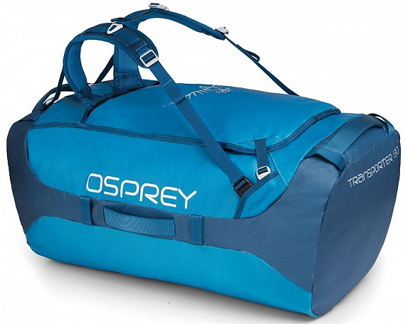 Баул Osprey Transporter 130 Kingfisher Blue - Фото 1 большая