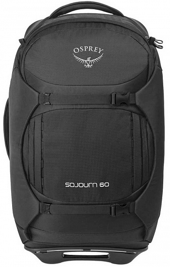 Сумка на колёсах Osprey SoJourn 60 Flash Black - Фото 1 большая