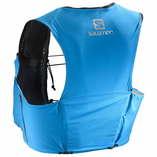 Рюкзак Salomon S-Lab Sense Ultra 5 Set Blue Transcend - Фото 1 большая
