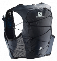 Рюкзак Salomon Active Skin 8 Set Ebony/Black