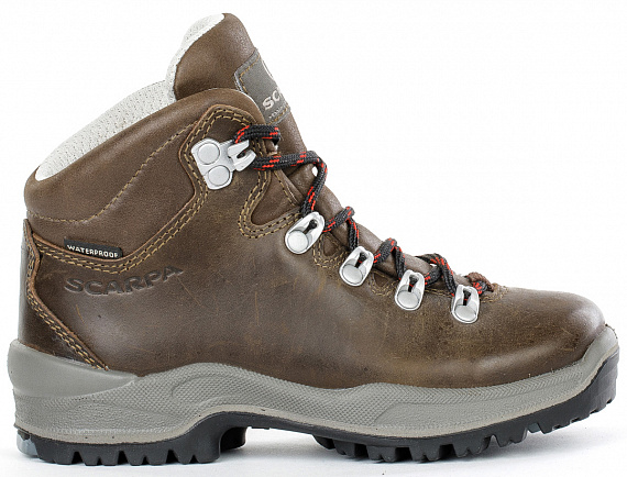Ботинки детские Scarpa Terra Kid Brown - Фото 1 большая